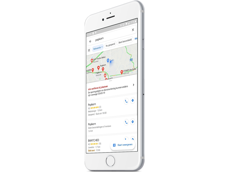 Google My Business on Google Maps