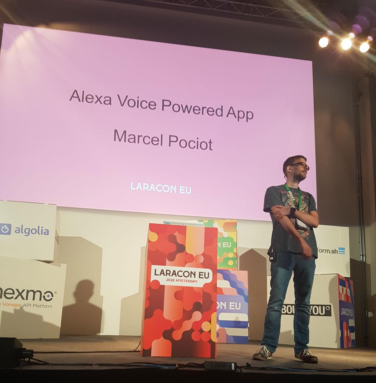Marcel Pociot Alexa Voice Powered Apps