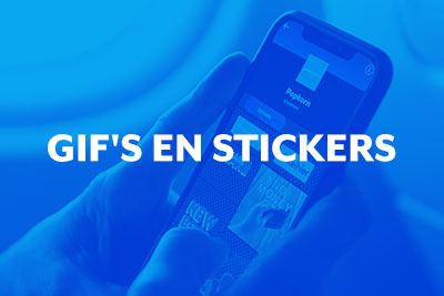 Blog thumbnail Ontdek alles over GIF's & stickers