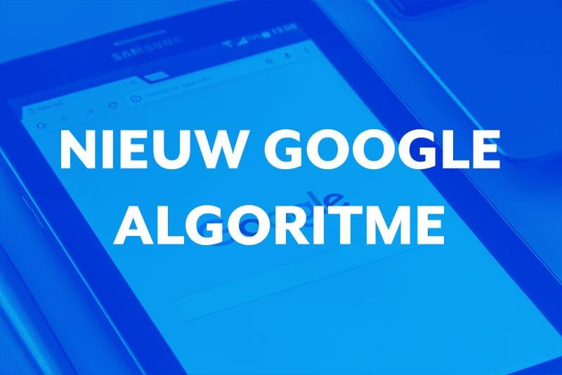 Blog thumbnail Google voert binnenkort een grote wijziging door in het zoek algoritme!