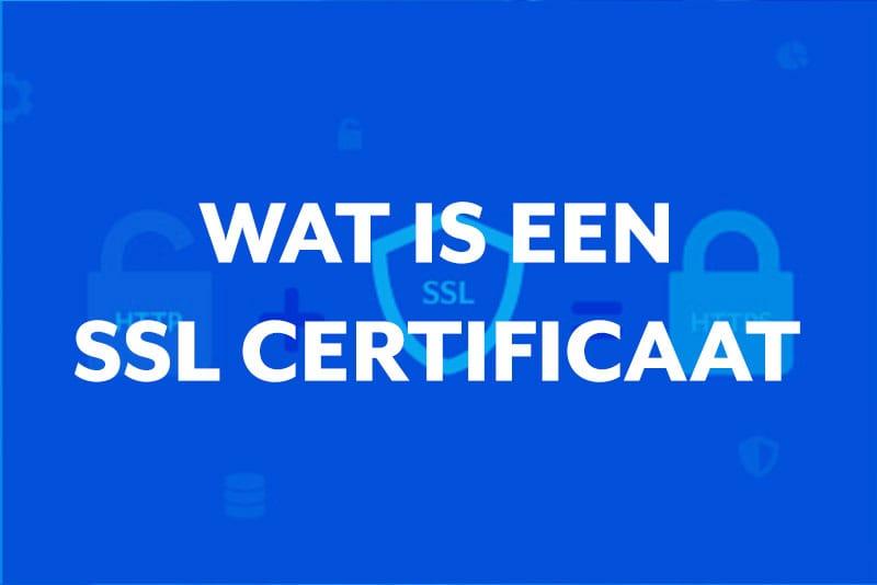 Blog thumbnail Wat is een SSL certificaat (HTTPS)?